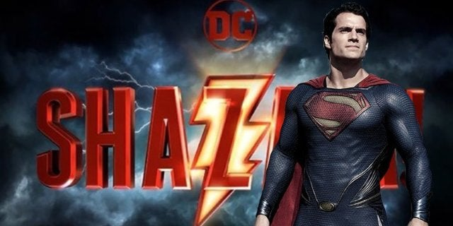 shazam man of steel easter egg