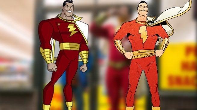 Shazam Movie Costume Golden Age New 52