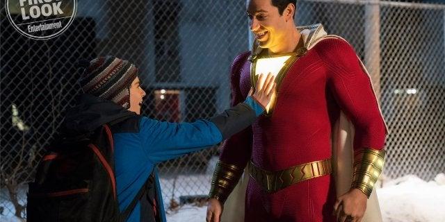 Shazam Movie Costume Image Light Up Lightning Bolt