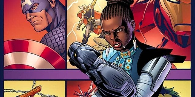 shuri marvel comics header