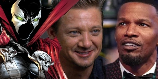 Jamie Foxx Talks About Working With Jeremy Renner on 'Spawn'