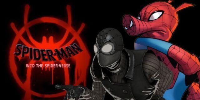 Spider-Man Spider-Verse Noir Spider Ham comicbookcom