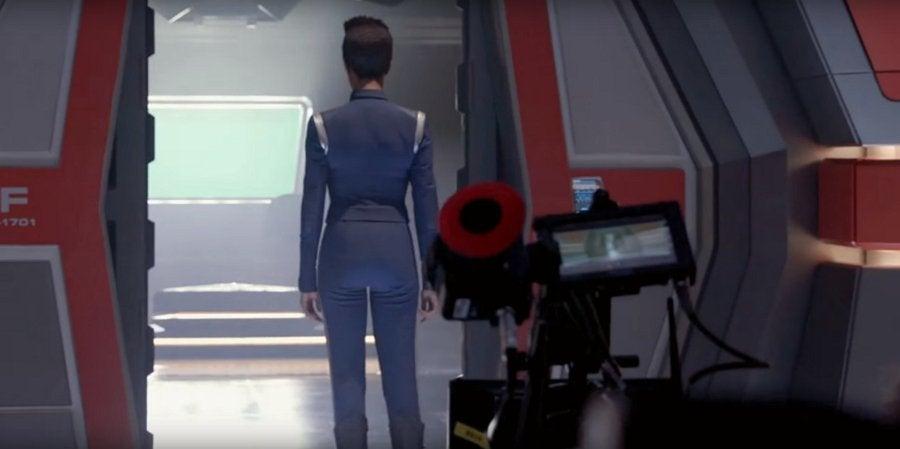 Spock's quarters Enterprise Star Trek Discovery