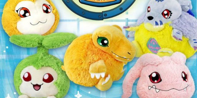 These 'Digimon' Plushes Redefine Squishy Goals