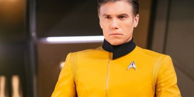 Star Trek Discovery Captain Pike