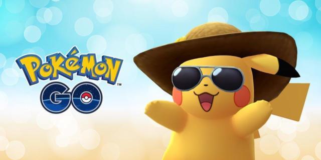 summer style pikachu