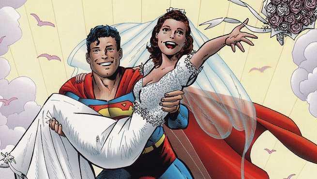 Superhero Marriages - A Great Superman Adventure