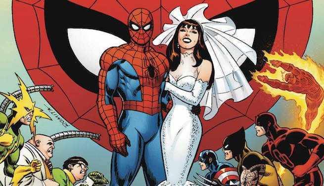 Superhero Marriages - Spider-Man