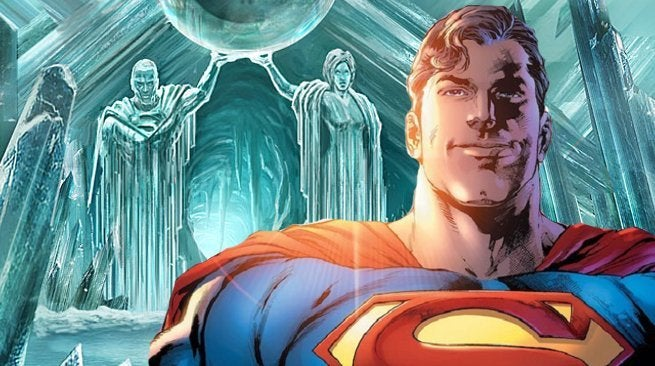 Superman Fortress Solitude Bermuda Triangle Bendis