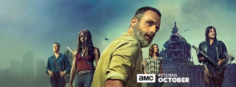 The Walking Dead season 9 banner