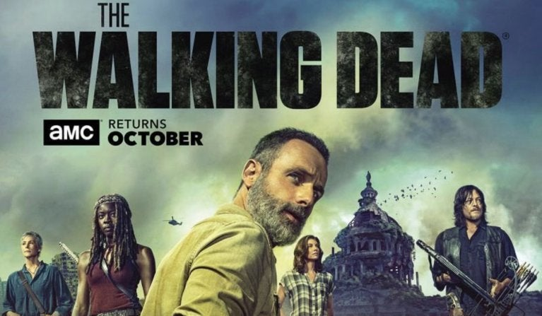 The Walking Dead season 9 key art