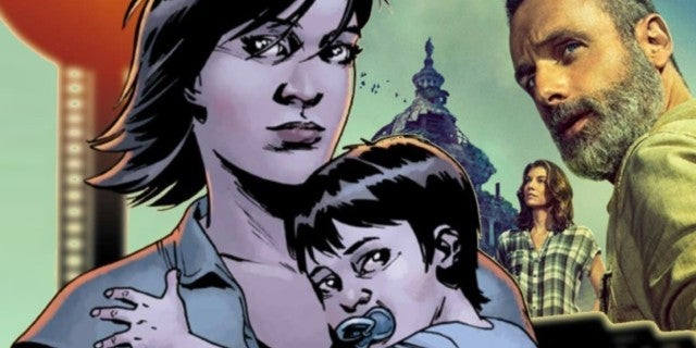 The Walking Dead season 9 Maggie pregnancy baby ComicBookcom
