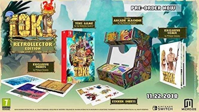 Toki Revival Coming To Nintendo Switch Later This Year With