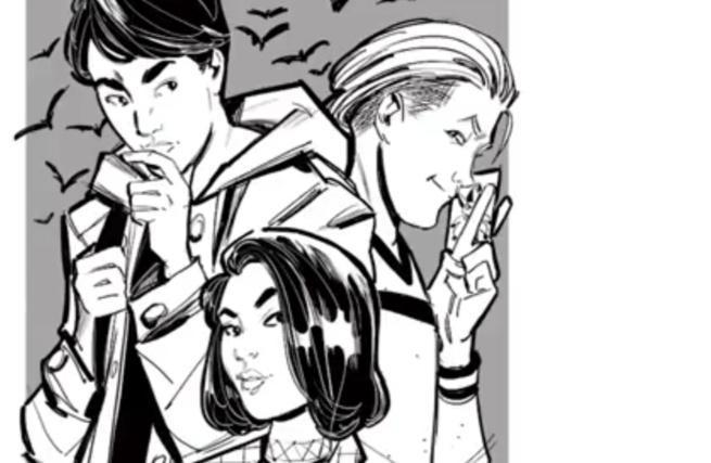 Top 10 DC Comics Zoom Ink - Gotham High