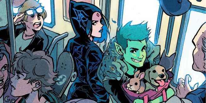 Top 10 DC Comics Zoom Ink - Teen Titans