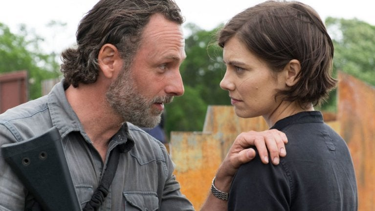 Walking Dead Rick and Maggie