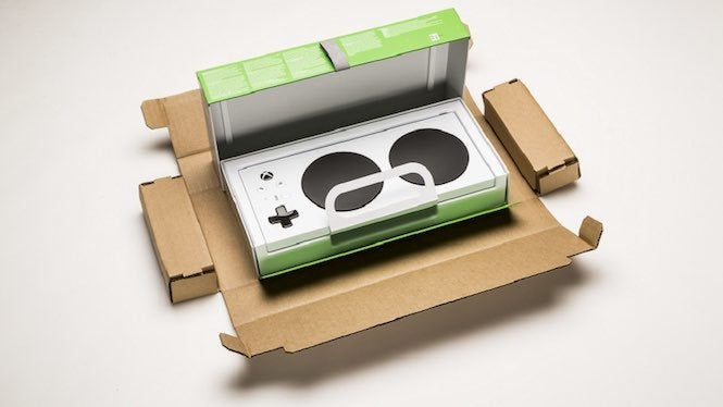 Designing accessible packaging for the Xbox One Adaptive Controller