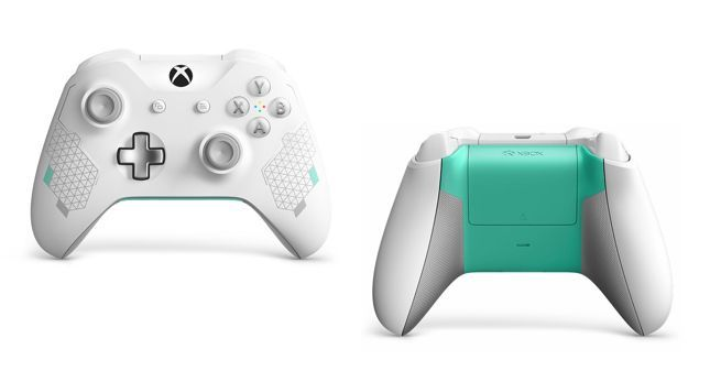 Microsoft Reveals Xbox Wireless Controller Sport White Special Edition