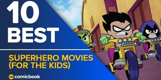 10 Best Superhero Movies (For the Kids) screen capture