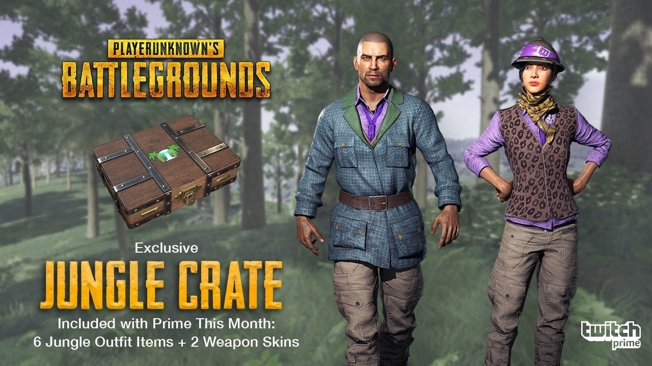 Newest PUBG Twitch Prime Loot Crate Will Bring Out Your Wild Side