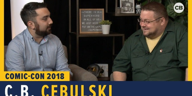 C.B. Cebulski - SDCC 2018 Exclusive Interview screen capture