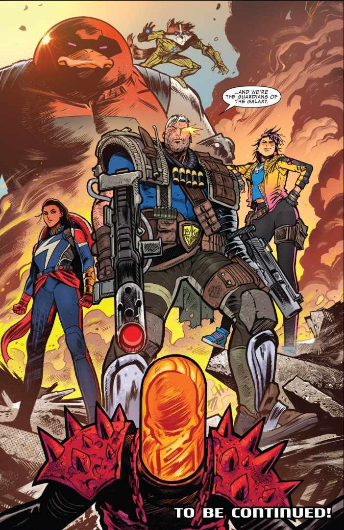 Cable's Guardians of the Galaxy