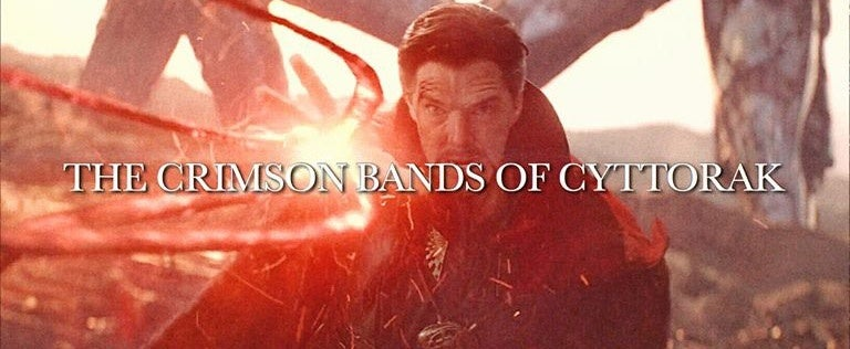 Doctor Strange and the Crimson Bands of Cyttorak
