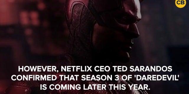 Daredevil Season 3 Confirmed for 2018 on Netflix screen capture