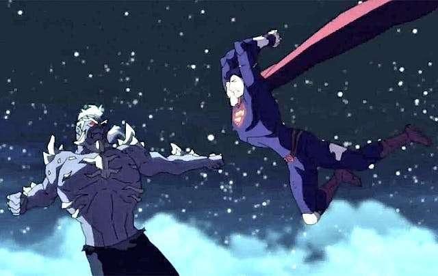death-of-superman-flight