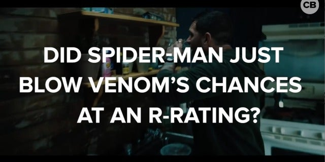 Did Spider-Man Just Blow Venom's Chances at an R-Rating screen capture
