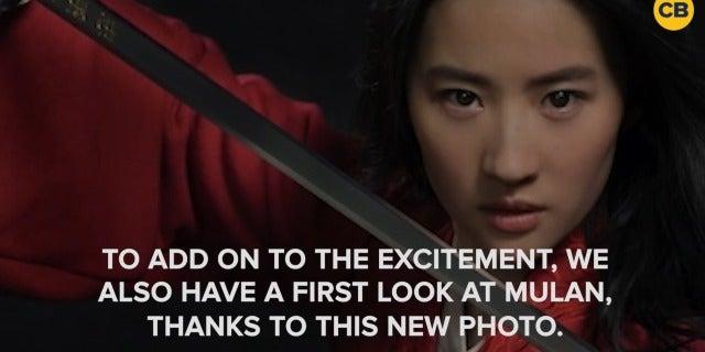 Disney Shares First Look at Live-Action 'Mulan' screen capture