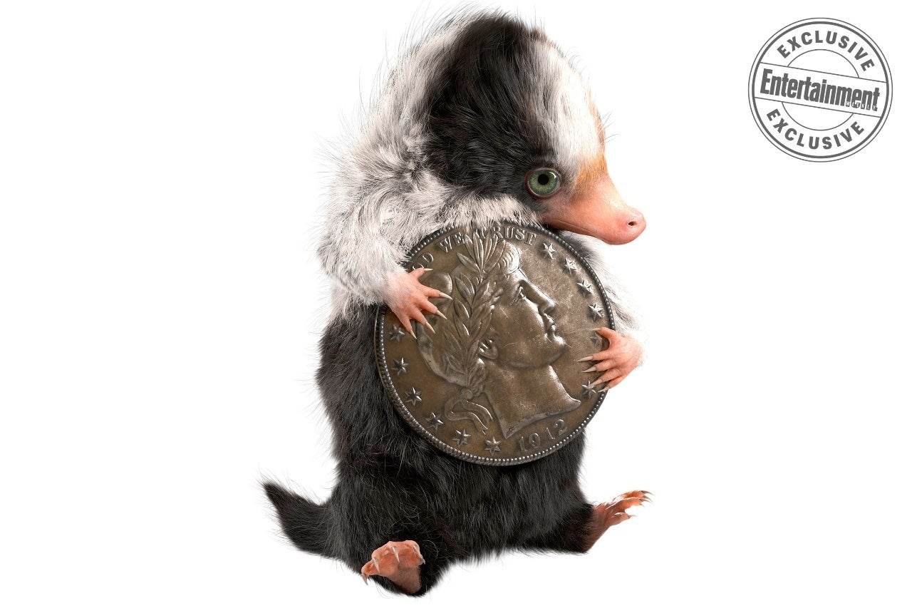 fantastic beasts the crimes of grindelwald baby niffler concept art