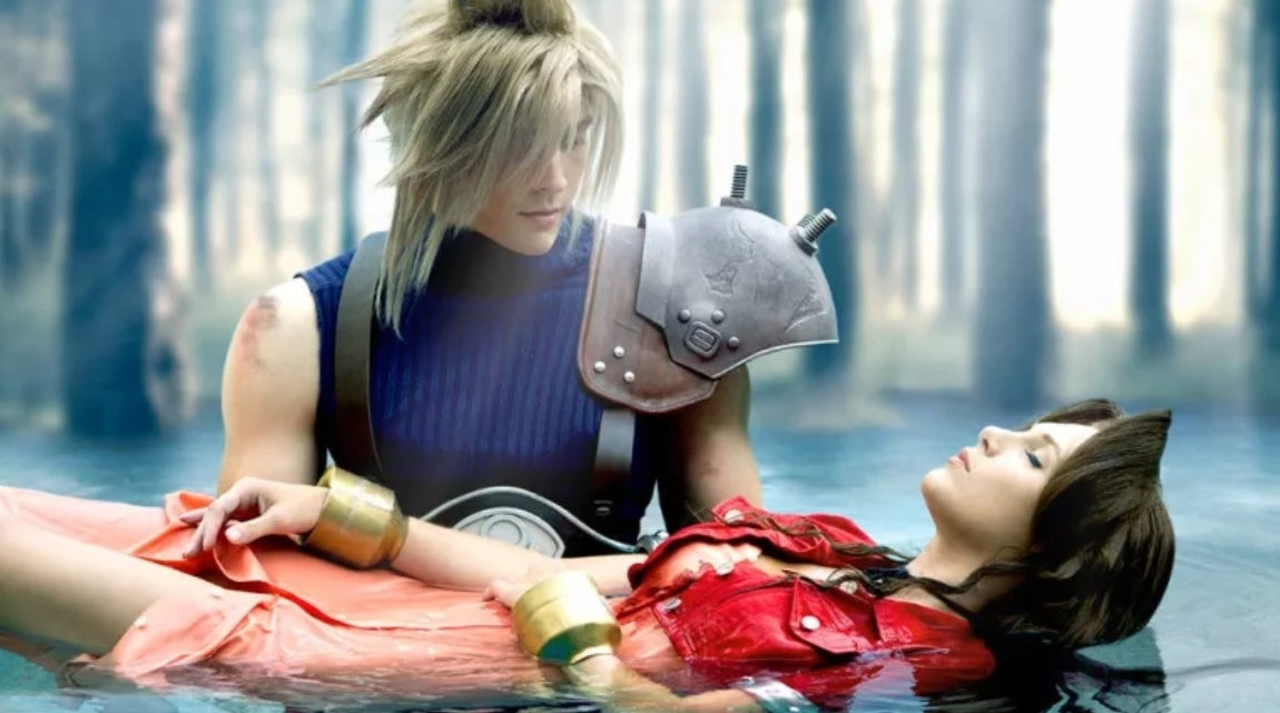 final fantasy vii this cloud and aeris cosplay is spot on