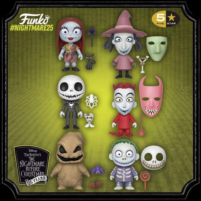 funko-the-nightmare-before-christmas-5-star-figures
