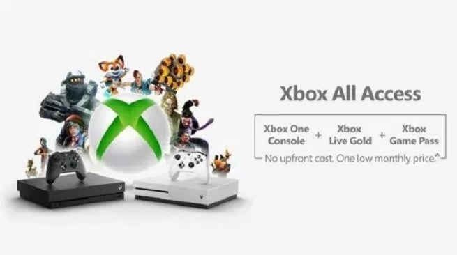 Microsoft Launches Xbox All Access