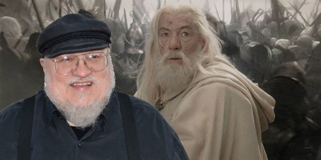 George Rr Martin Game Of Thrones Lord Of The Rings