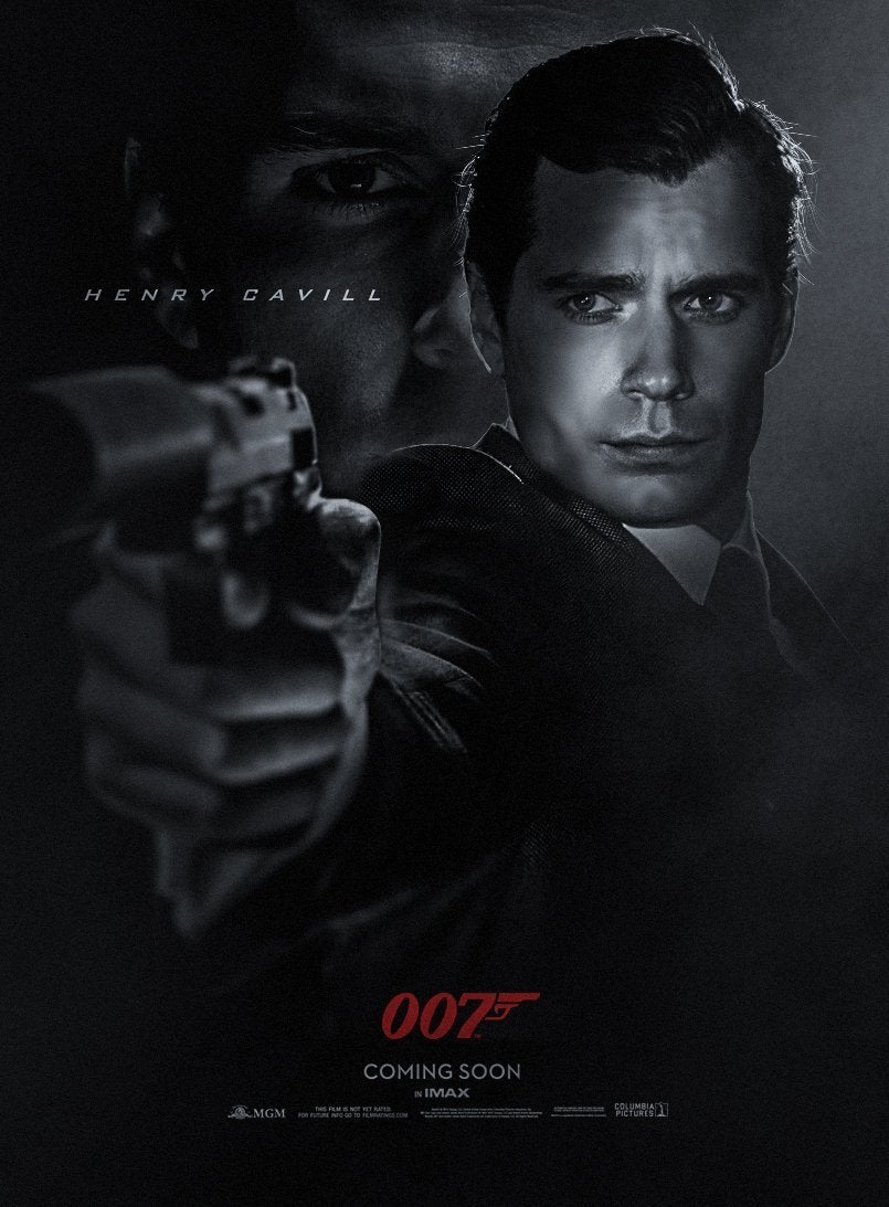 Henry Cavill James Bond 007 Fan Art by BossLogic