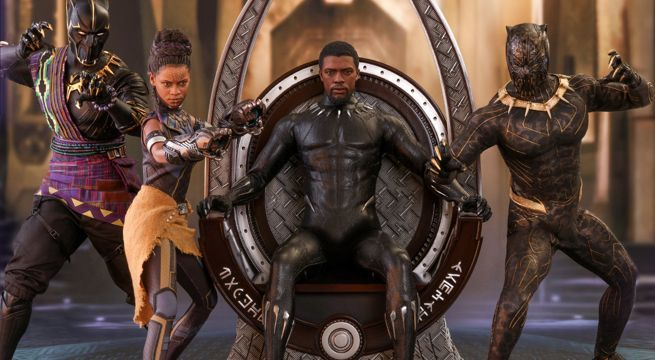 Hot Toys Black Panther 1//6th scale Wakanda Throne Collectible ACS005