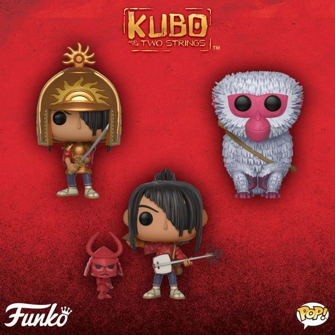 kubo-and-the-two-strings-funko-pops