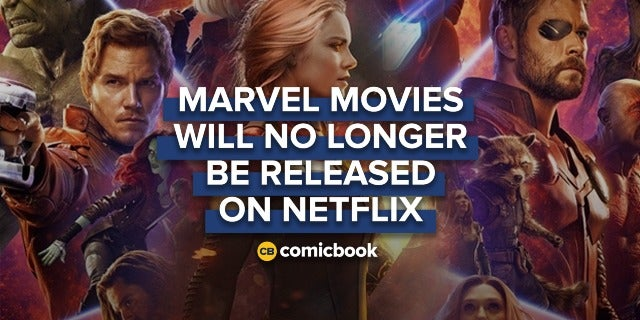 Marvel Movies Will No Longer Be Released on Netflix screen capture