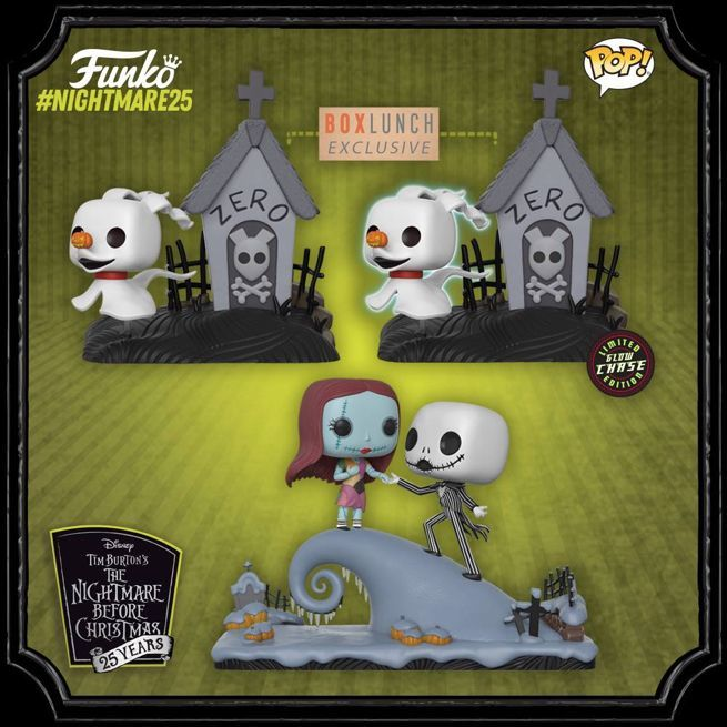 funko goes big for the nightmare before christmas 25th anniversary - What Year Did Nightmare Before Christmas Come Out