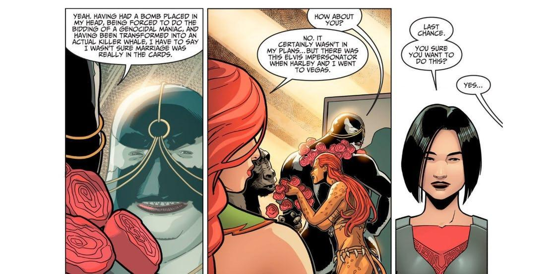 poison ivy harley quinn married injustice 2 70