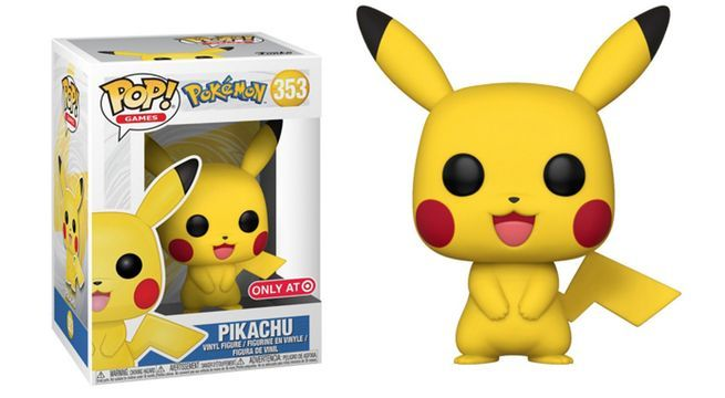 Funkos Pokemon Pikachu Pop Figure Target Exclusive Was Briefly Available Online
