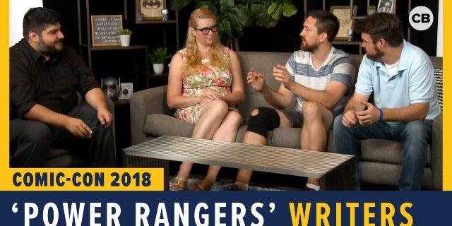 Power Rangers - SDCC 2018 Exclusive Interview screen capture