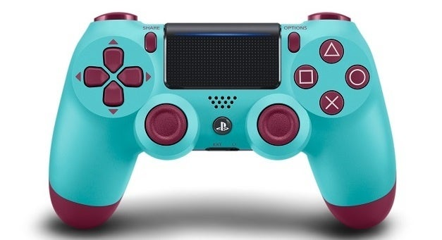 Sony releases PS4 DualShock controller in four bright new colors