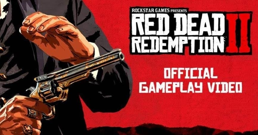 Red Dead Redemption 2 gameplay will be dropping here today