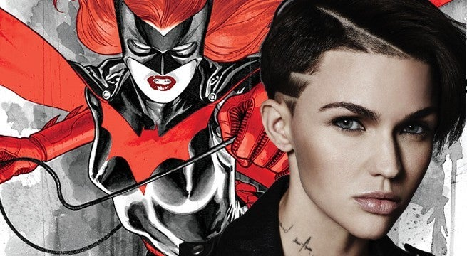 Ruby Rose to play lesbian Batwoman in new TV series