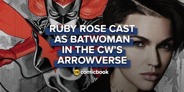 Ruby Rose Cast as Batwoman in The CW's Arrowverse screen capture