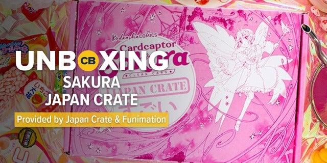 Sakura Japan Crate August 2018 - Unboxing screen capture