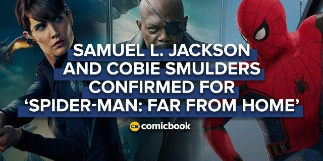 Samuel L. Jackson and Cobie Smulders Confirmed for 'Spider-Man: Far From Home' screen capture